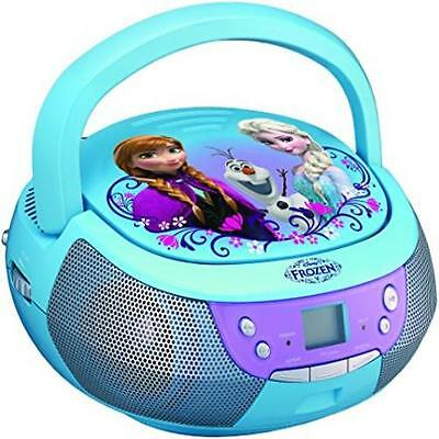 New  Frozen Fr 430 Ex Cd Player Boombox With Mic Toy Kids Gift Christmas Gift