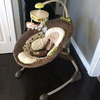 Ingenuity COZY COO Sway Swing - BEST BABY SWING EVER!