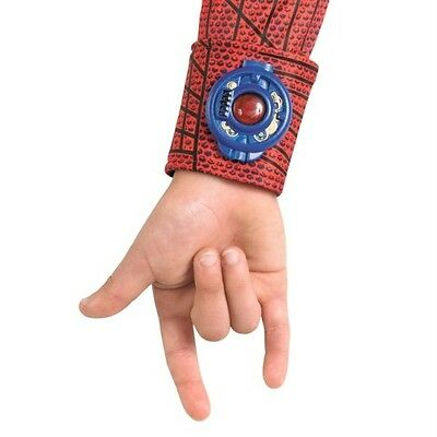 Kids Amazing Spider Man Costume (Amazing Spider-Man Light-Up Child Web Shooter Deluxe Costume Disguise)