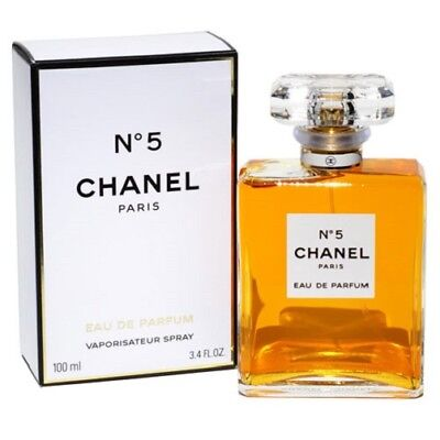 Chanel No.5 3.4 oz Women's Eau de Parfum 100mL Brand New 3.4oz EDP Perfume Spray