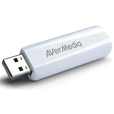 DVB-T/T2(HD) Empfänger TV-Stick USB 2.0 incl. Antenne, Avermedia TD310 *NEU*