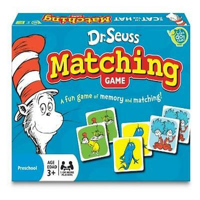 Toddler Toy Dr. Seuss Matching Game Kids Play Pretend Pre-School Young Children  (Play School Games)