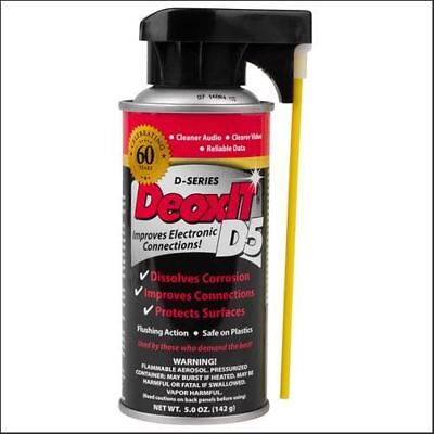 CAIG DeoxIT D5 D5S-6 Contact Cleaner Spray
