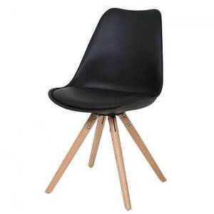 set 2 * Eames DSW Split Frame Dining Chair (white, black, gray) Hornsby Hornsby Area Preview