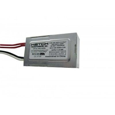 - 80W 12V Electronic Transformer - Replacement for Kichler Transformer DR16S