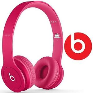 REFURB BEATS SOLO HD HEADPHONES DRENCHED IN PINK - ON-EAR HEADPHONES 87084036