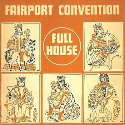FAIRPORT CONVENTION Full House Vinyl Record LP Island ILPS 9130 1970 2nd Press