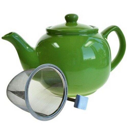 Teekanne HOPE - Grün 1,2l Shamila® (Tee Kanne, Keramik)