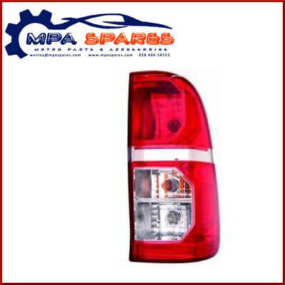 TOYOTA HILUX '07-> LH REAR LAMP (WITH CLEAR INDICATOR) - 212-19W6L-UE