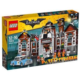 LEGO Arkham Asylum (70912) - New in box. (Retired set)