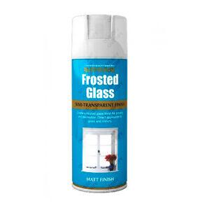 x1 Rust-Oleum Frosted Glass Aerosol Spray Paint Semi-Transparent Window Etching