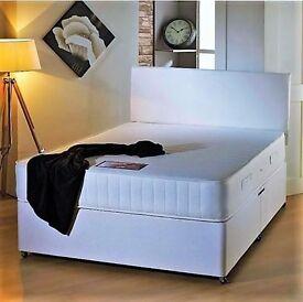 Massive Savings Brand New Single Double King-size Divan Beds Sale