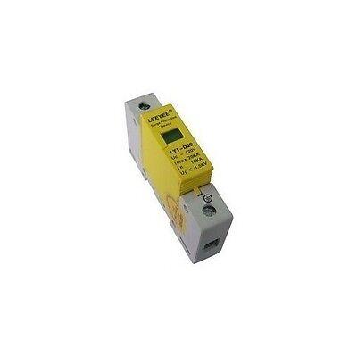 1p 10-20ka Din Rail Mount Spd Circuit Lightning Protection Device Arrester