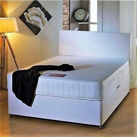 QUALITY BRAND NEW DOUBLE DIVAN BEDS & ECONOMY, ORTHO, MEMORY MATTRESSES (FAST DELIVERY)