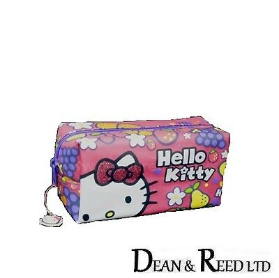 *NEW* HELLO KITTY FRUITY LARGE PENCIL CASE / MAKE UP BAG