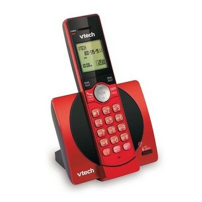 Cordless Office Phones - New VTech CS6919-16 DECT 6.0 Expandable Cordless Home Office Store Phone, Red