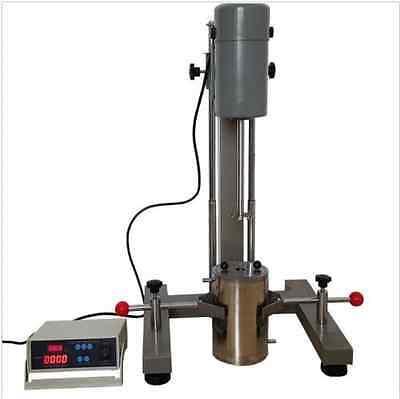 Digital Display High-speed Disperser Lab Homogenizer Mixer Fs-1100d 220v 1100w 1