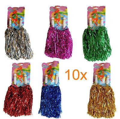 20 Stück = 10 Paar Cheerleader Pompoms Pompom Pompon Püschel Tanzwedel Pompons