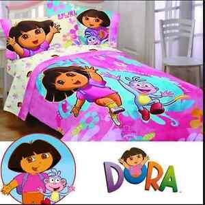 Dora - Exploring Together Full Bedding Set and Fleece Blanket