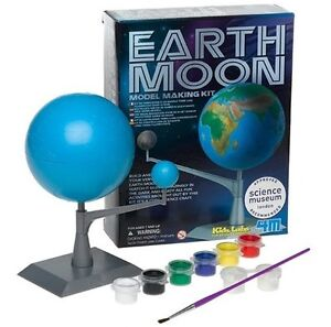 Earth & Moon Model Making Kit Sensory Science Project