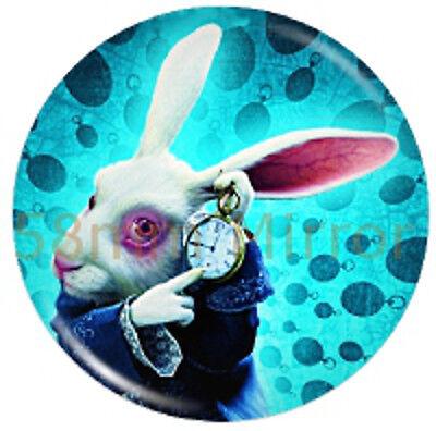 White Rabbit Mirror NEW (Alice In Wonderland White Rabbit)