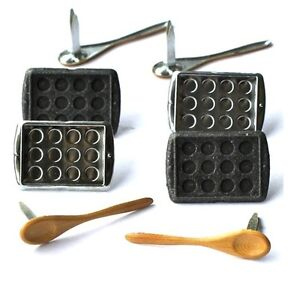 Brads-Baking-cooking-wooden-spoon-muffin-tin-pk-4-scrapbooking