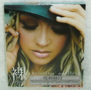 Christina Aguilera Stripped Taiwan Limited CD w/BOX