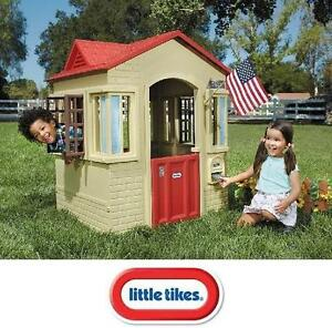 NEW LITTLE TIKES CAPE COTTAGE PLAYHOUSE - OUTDOOR PLAY - CAPE COTTAGE 107917956