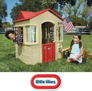 NEW* LITTLE TIKES CAPE COTTAGE PLAYHOUSE - OUTDOOR PLAY - CAPE COTTAGE 107627868
