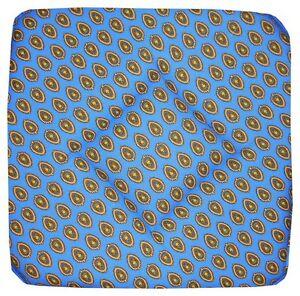 Lot de 6 galettes dessus de chaise bleu proven ale ebay - Galette de chaise provencale ...