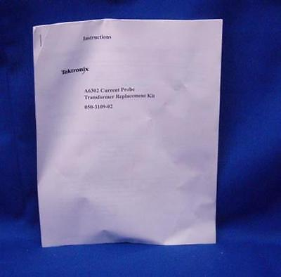 Tektronix A6302 Current Probe Tranformer Kit Manual