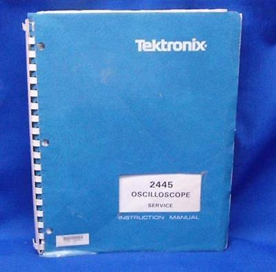 Tektronix 2445 Oscilloscope Service Manual