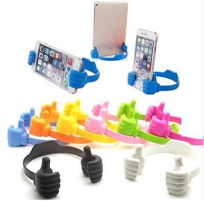Lazy Mobile Phone Holder Bed Thumb Cell Smartphone Tablet Accessory Mount Stand
