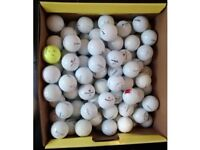 100 golf balls. Lake balls. All brands.
