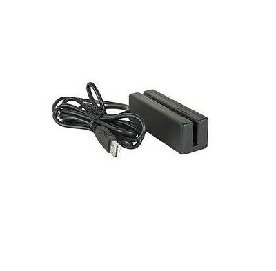 New USB Mini Portable Magnetic Stripe MSR 3TK 3 Track Swipe Credit Card Reader