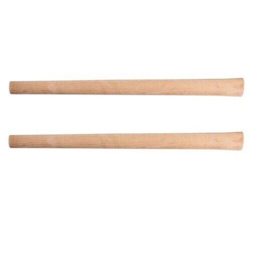 2x Spitzhackenstiel 90cm Kreuzhackenstiel 2,5kg Spitzhacke Stiel Holzstiel PROFI