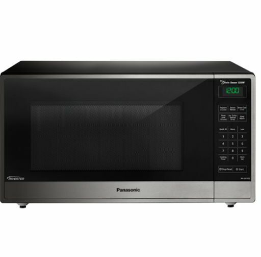 NEW FRIGIDAIRE 1.4 CU FT BLACK /& STAINLESS STEEL MICROWAVE *DISTRESSED PKG*