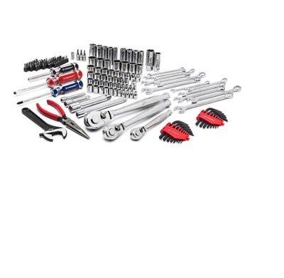 Tool Set Drive Mechanics Socket Wrenches Bits Screwdrivers Hand Tool (148 Piece)