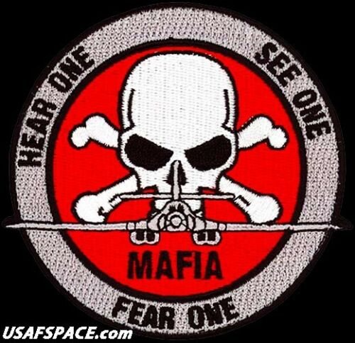 USAF 7th BOMB WING - B-1B - MAFIA - Dyess AFB, TX - ORIGINAL AIR FORCE VEL PATCH