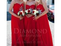 Red prom/bridesmaid/occasion dress