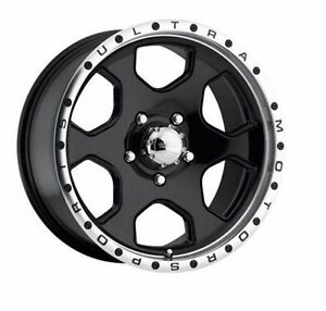 Ultra Wheels - Rogue Gloss Black 18 x 8.5 - 5-127  Jeep Wrangler