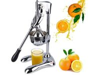 Almost New!!! Maunal Stainless Citrus Juicer Orange Squeezer Juice Extractor for £13, SW London