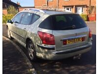 Great condition Peugeot 407 sw. Diesel. New cambelt and clutch. 11 month mot