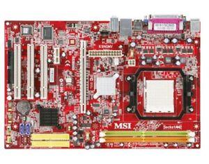 Carte maîtresse MSI AM2+ et Athlon 64 X2