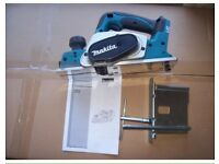 Makita lxt cordless planer, brand new never used £130