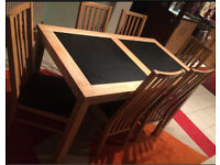 Bentley Dining Table & 6 Chairs