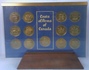 COINS COAT OF ARMS SET $7
