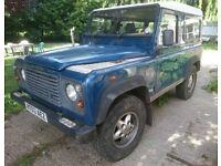 Land Rover Defender 90 TD5 County Station Wagon - 6 Seater.