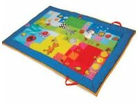 Tafs Toys padded supersize touch play mat and carry case - for sale, £15 (RRP over £40)