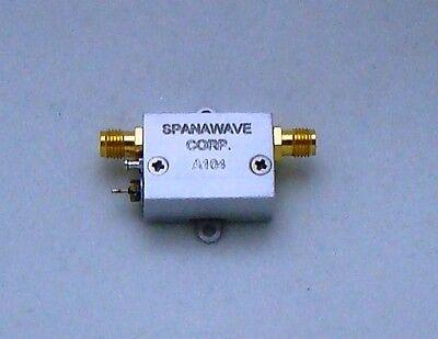 New Spanawave Wideband Rf Amplifier 100-4000 Mhz Swa-01040